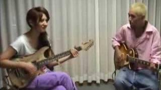 リア・ディゾンleahdizonギターに挑戦「Real G-ZONE」5 http://www.leah...