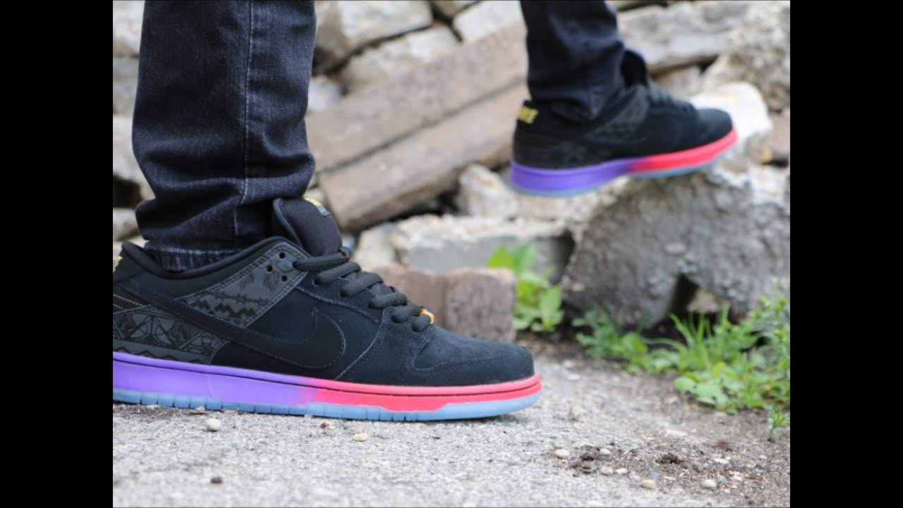 Nike Sb Dunks Low On Feet