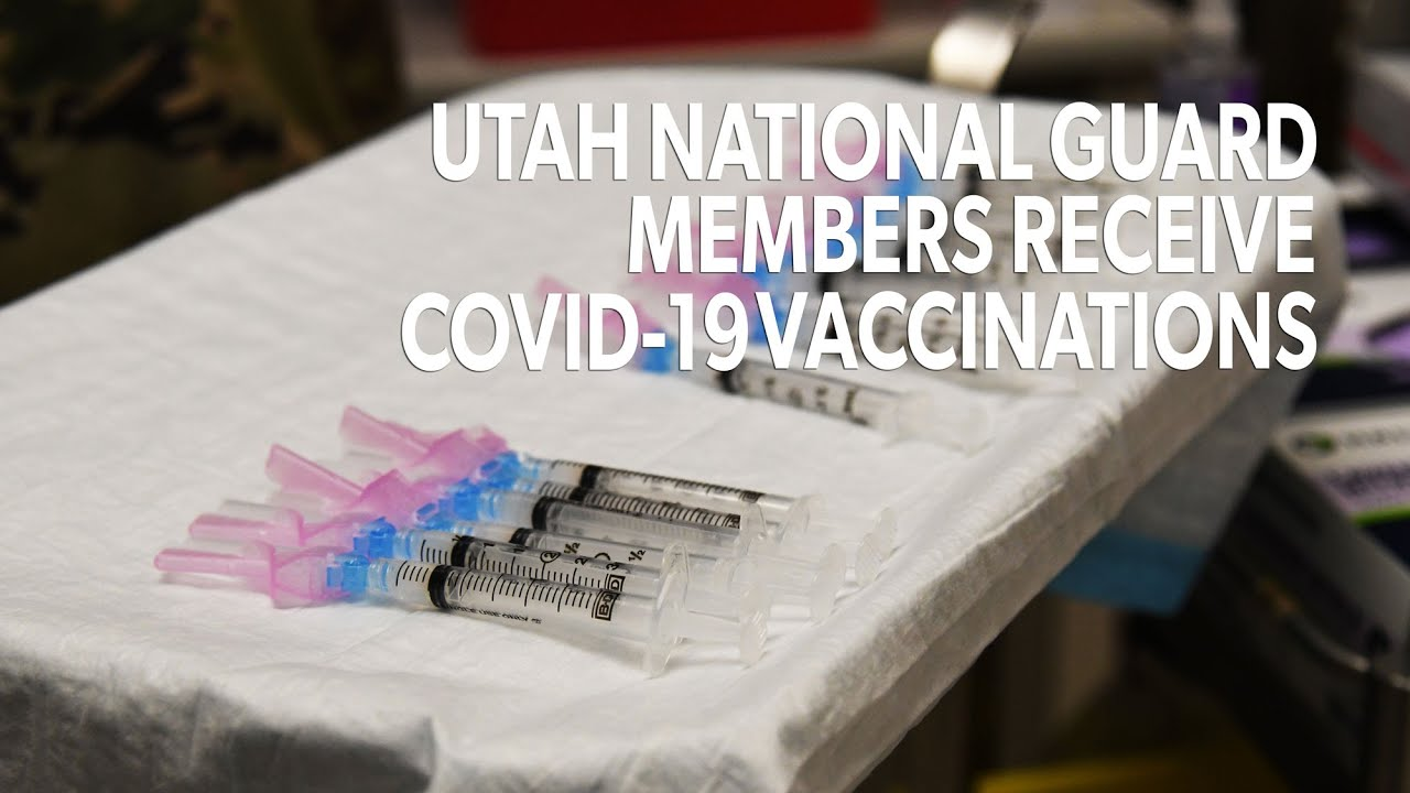 Earlier this week, the Utah National Guard started vaccinating service members who have been working on the fronts lines supporting the COVID-19 Task Force. Service members will continue to receive vaccinations on a voluntary basis and are prioritized based on guidance from the CDC, DOD and other expert agencies. How can you prepare?