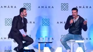 Anuj Gurwara in conversation with Akshay Kumar!