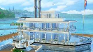 Trying to Build a Steamboat in The Sims 4 (Streamed 8/9/19)