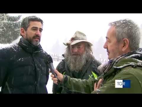 25 feb 2018 - Fausto De Stefani Mauro Corona e Riccardo Fraccaro