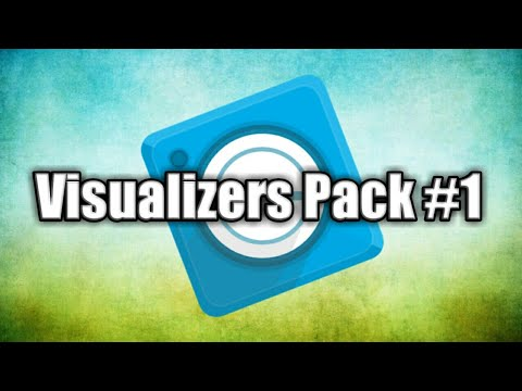 Avee Player Visualizers Pack #1 (Free Download)
