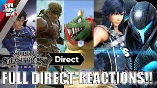 FULL Smash Direct 8.8.2018 Reactions!