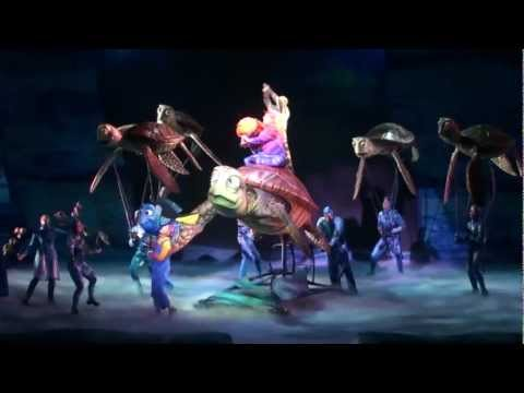 Finding Nemo The Musical on Animal Kingdom FULL SHOW HD