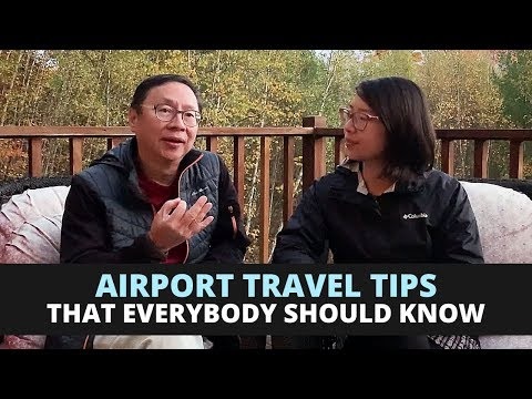 Dr. Lam's Airport Travel Tips
