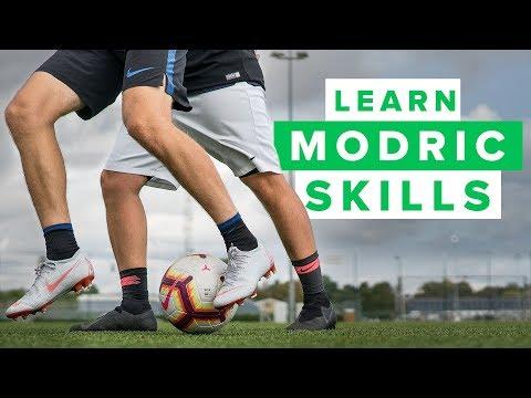 LEARN MODRIC FOOTBALL SKILLS | How to play like Luka Modric