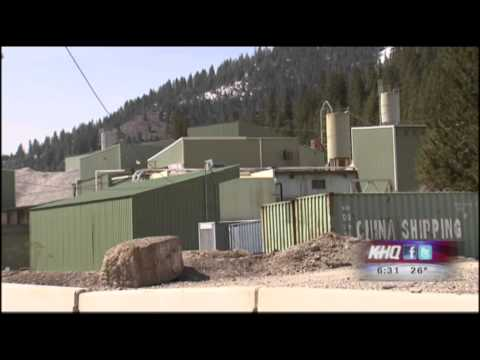 Rock Bursts at Lucky Friday Mine in Mullan, ID