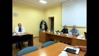 Jeziorany, posiedzenie komisji, 3 października 2013r -  cz.II