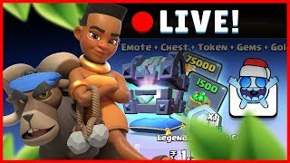 [LIVE!!] Snaring All Noobs in RAM RIDER Challenge + Buying Christmas Offers | Clash Royale