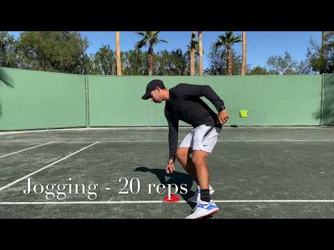 Warm up routine before workout or practice with Coach Brian Dabul / Tennis training