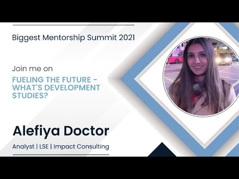 How to build your career in Development Studies   LSE   Mentor Conference 2021