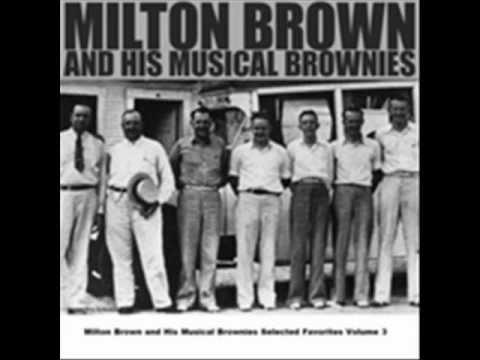 Garbage Man Blues -  Milton Brown & His Musical Brownies
