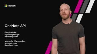 OneNote APIs in Microsoft Graph