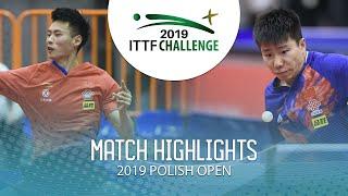 Xu Haidong vs Xu Yingbin   2019 ITTF Polish Open Highlights (1/2)