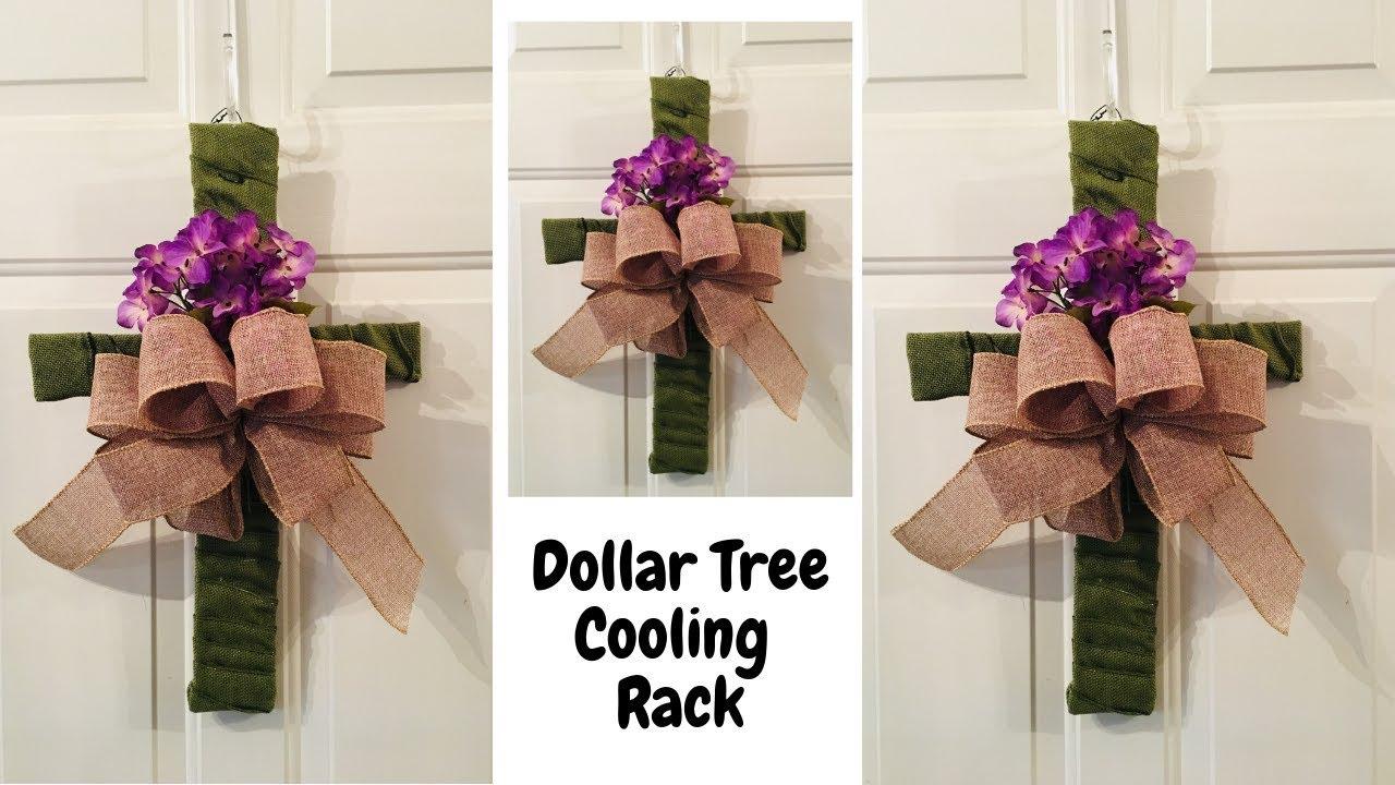Dollar Tree Cooling Rack Cross Easter Diy Youtube