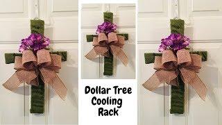Dollar Tree Cooling Rack Cross Easter DIY
