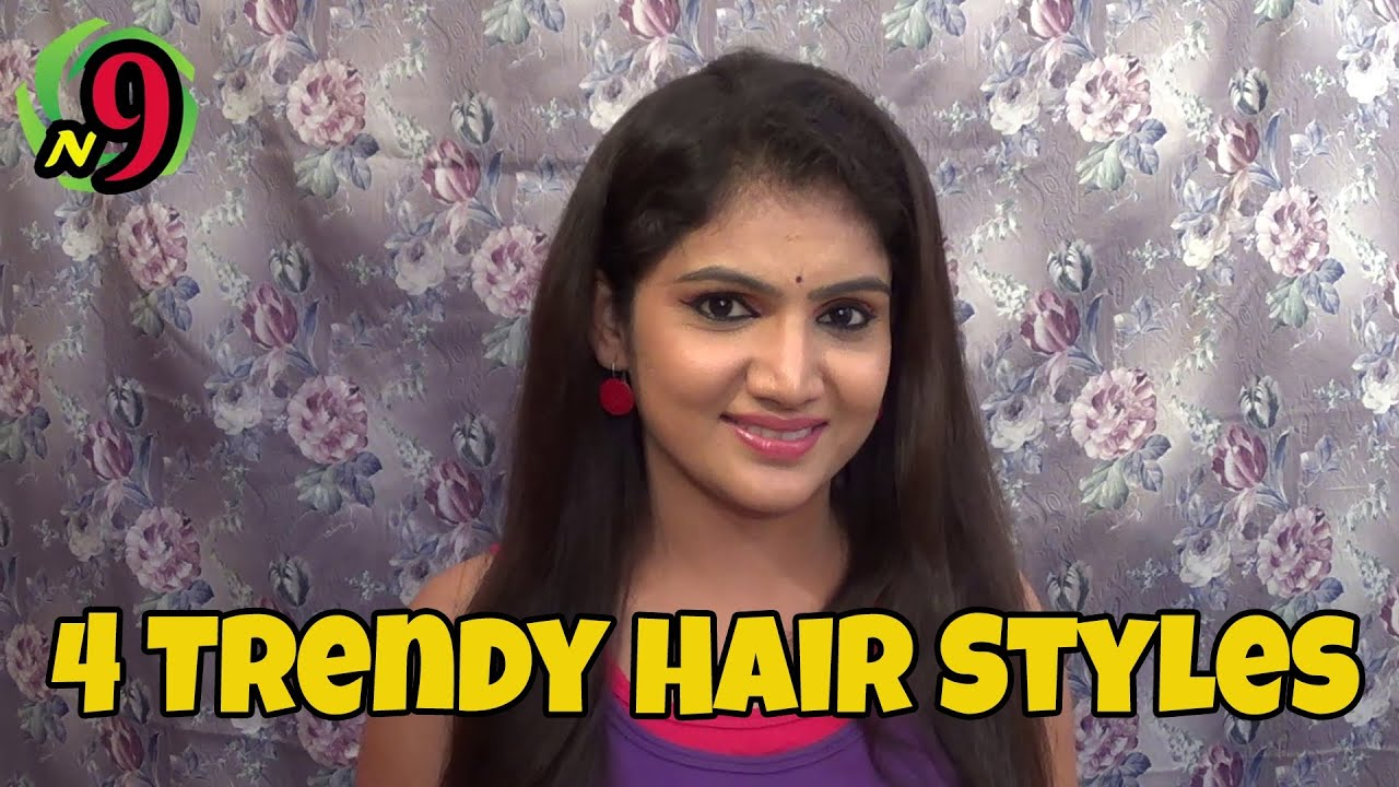 Easy Trendy Hair Styles N9 Beauty Full HD