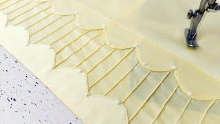Cutwork और Pintucks के साथ बनाएं Palazzo Pant का सबसे खूबसूरत डिज़ाइन | Reet Designs