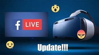 Samsung Gear VR Update | Facebook Streaming using Gear VR