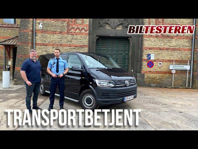 Spændende job som transportbetjent (hyggevideo)