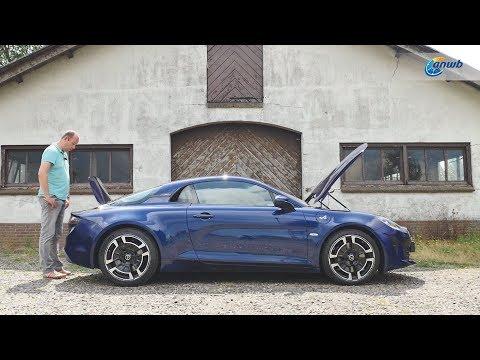 ANWB Test Alpine A110 2019 (HAD ELKE AUTO MAAR EEN MIDDENMOTOR!)