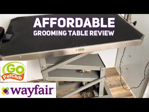 Wayfair Pet Grooming Table Review! | Go Pet Club