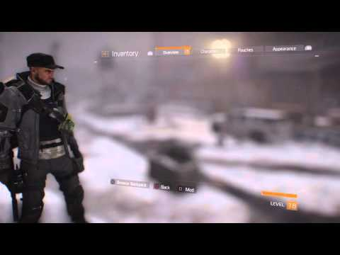 The Division: How to equip performance mods ???????