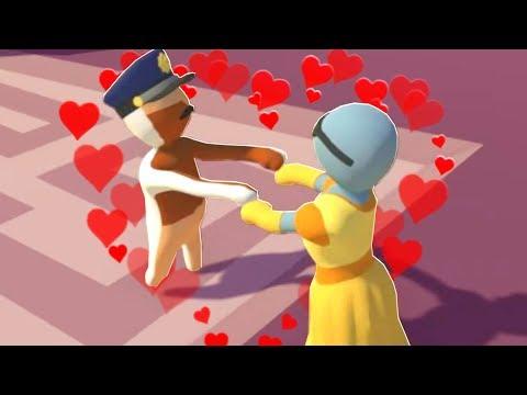 DENIS & SKETCH GET MARRIED! | Human Fall Flat