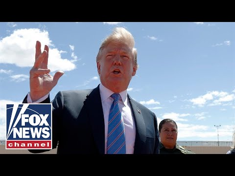 'The Five' reacts to Trump's California border tour