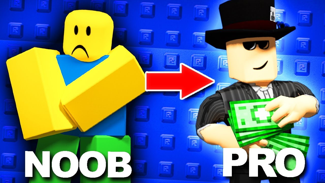 Easy Ways To Go From Noob To Pro In Roblox Youtube