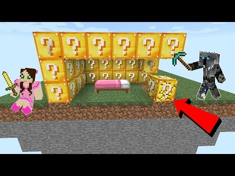Minecraft: LUCKY BLOCK BEDWARS! - Modded Mini-Game