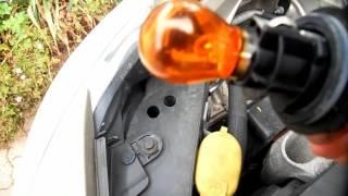Comment changer une ampoule clignotant avant Clio 3 Renault