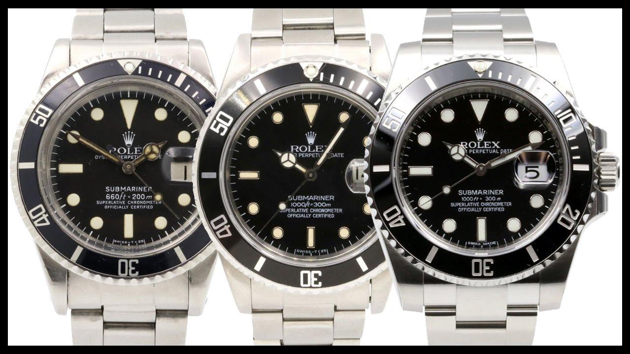 Rolex Submariner No Date Vs Date