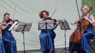 """П. Чайковский -  Танец маленьких лебедей из балета   """"Лебединое озеро"""" -  """"Каприс -  квартет"""""""