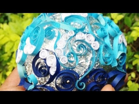 Make a Beautiful Paper Quilled Globe - DIY Home - Guidecentral