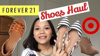Spring Haul - Target and Forever21 Shoes || Peteygurl
