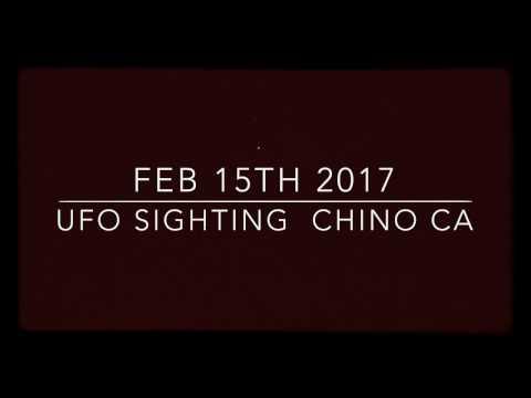 Feb 16 2017 Chino Ca , College Park , weird lights
