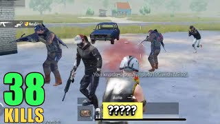 THIS WEAPON IS BEST IN CLOSE RANGE | 38 SQUAD KILLS | PUBG MOBILE