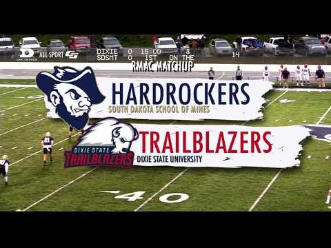 Hardrocker Football Highlights Vs. Dixie State 9.28.2019