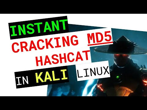 🔥 How To #CRACK MD5 HASHES With #HASHCAT On #KALI LINUX