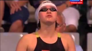 Чемпионат Мира по плаванию 2013 в Барселоне  50м на спине женщины финал