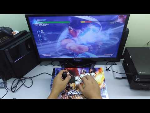 Bruno Cruz [PS4/PS3/PC/RPI] #Genesis Arcade Stick