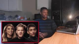 [OFFICIAL VIDEO] God Rest Ye Merry Gentlemen - Pentatonix Reaction!