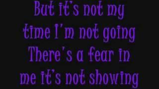 it s not my time 3 doors down lyrics