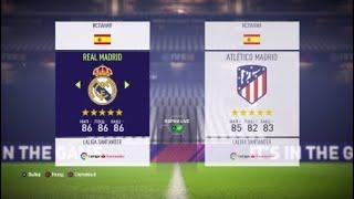 Реал Мадрид Атлетико Мадрид прогнозы на матч и ставки на спорт
