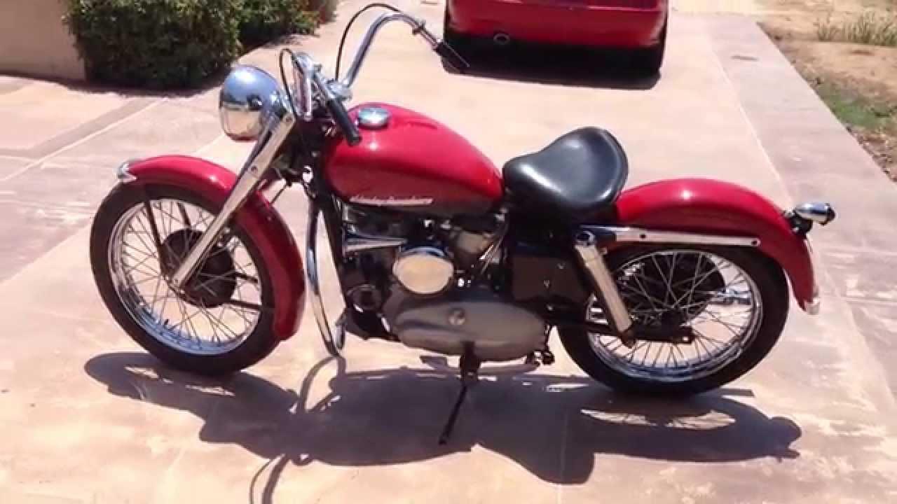 1952 Harley Davidson K Model