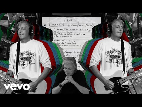 Paul McCartney - Slidin' (Lyric Video)