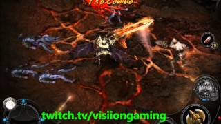 Apocalypse Knights Hell Mode Gameplay (iPAD)
