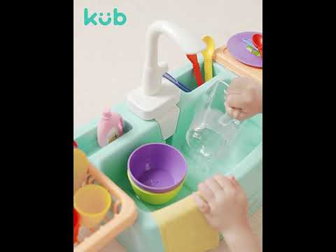 KUB Kitchen Sink Play Set